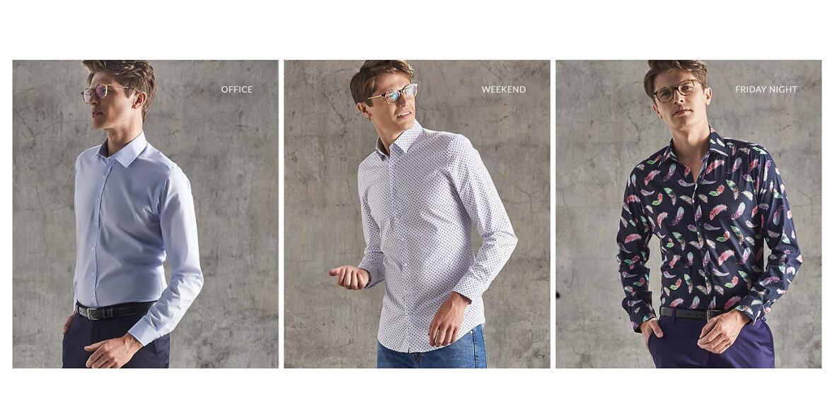 na nieprzecenione koszule męskie