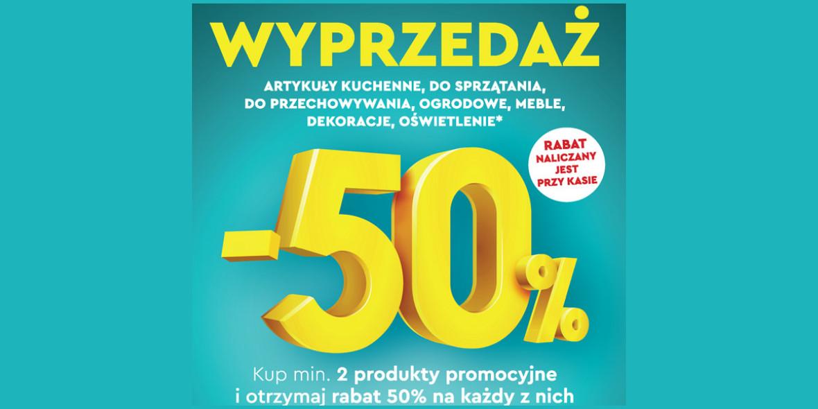 Biedronka:  -50% na akcesoria i AGD kuchenne 22.07.2021