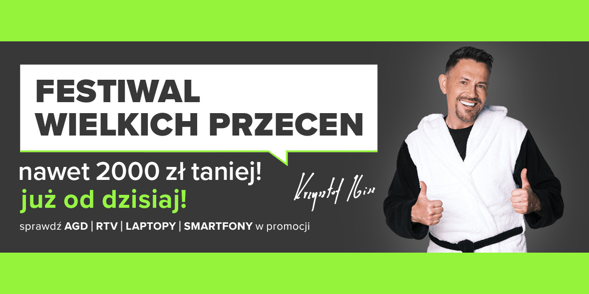 Neonet:  Festiwal Wielkich Przecen! 21.10.2021