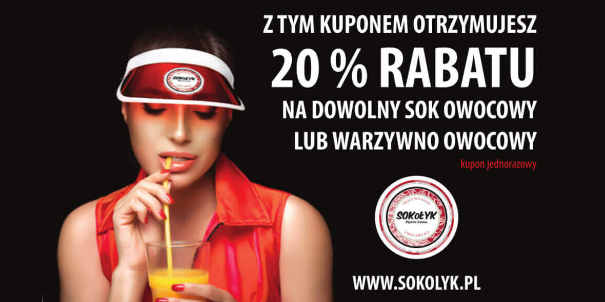 -20% na dowolny sok