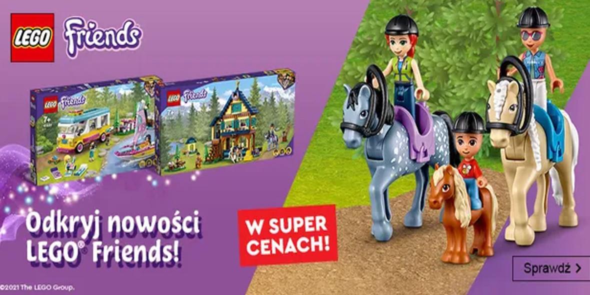 Smyk: Do -35% na nowe zestawy LEGO® Friends 16.09.2021