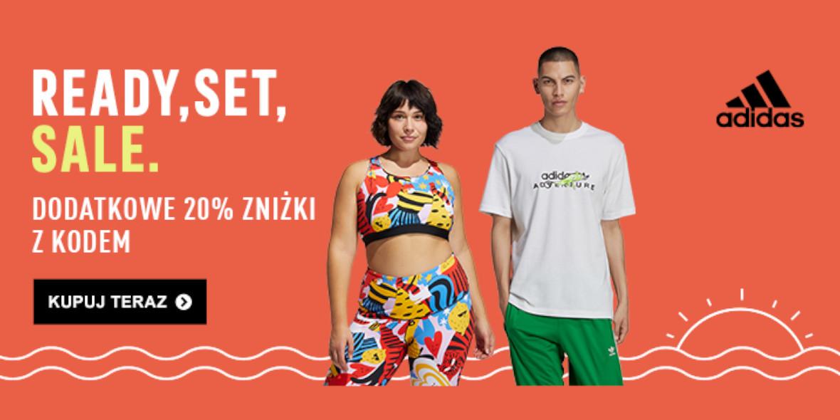 Adidas: Kod: -20% dodatkowo na Outlet 17.06.2021