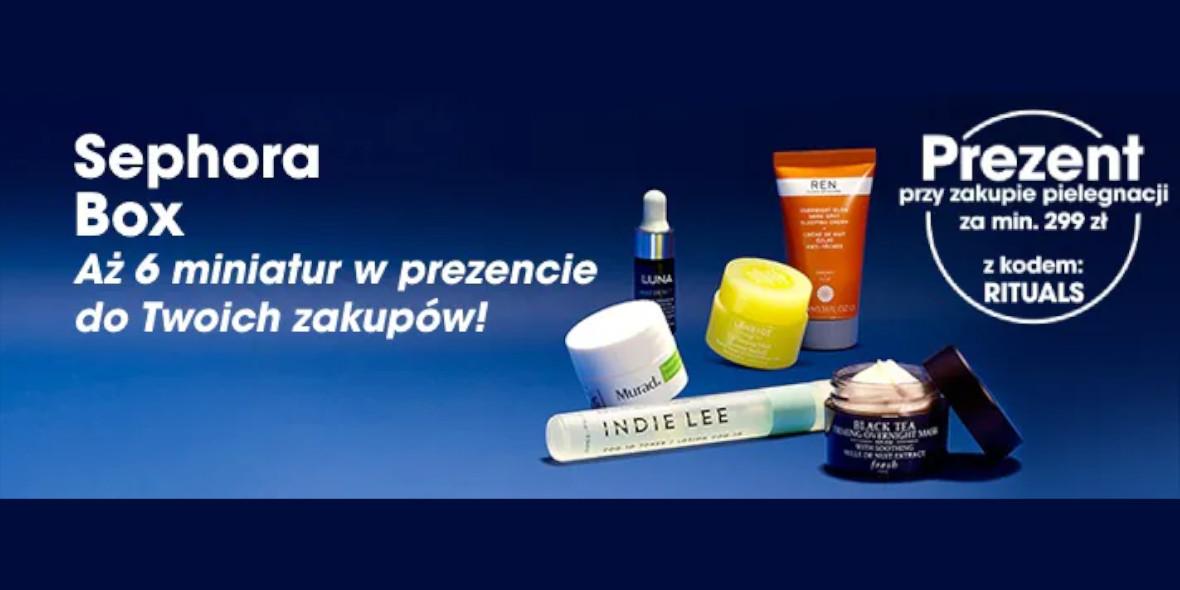 Sephora: Prezent przy zakupie produktów do pielęgnacji 17.09.2021