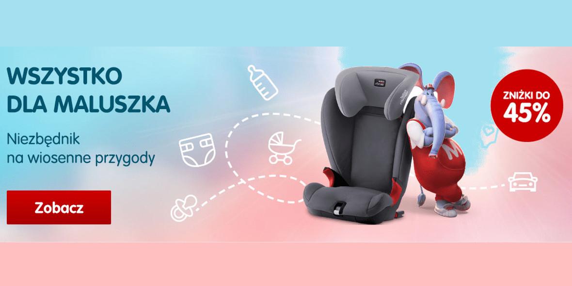 Mall.pl: Do -45% na wszystko dla maluszka 17.04.2021
