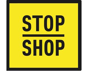 Logo STOP SHOP Mława