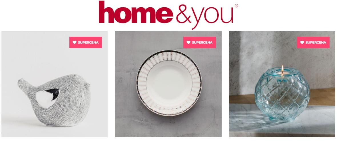 home&you: Do -60% na wyprzedaży kolekcji 18.09.2021