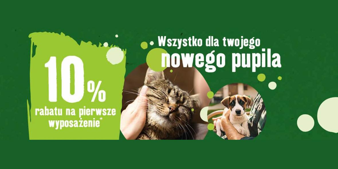 Maxi Zoo:  -10% na pierwsze wyposażenie dla psa oraz kota 17.05.2021