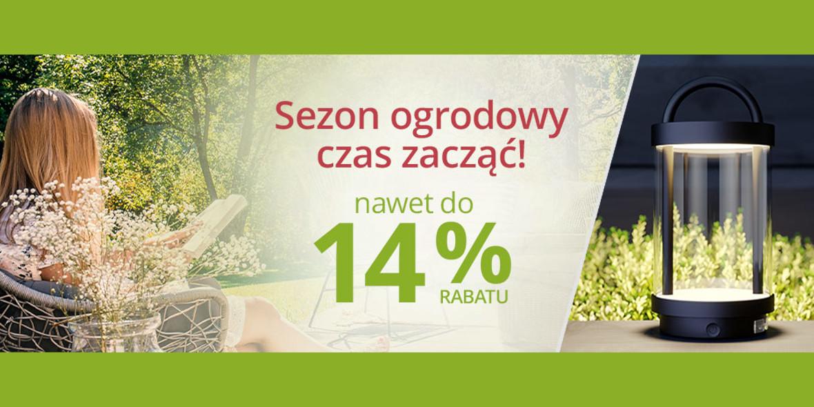 lampy.pl: Kod: do -14% na oświetlenie zewnętrzne 11.03.2021