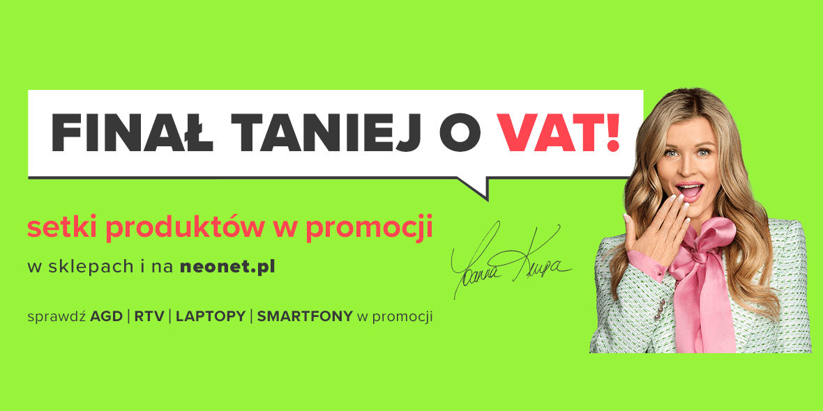 Neonet: Finał Taniej o VAT! 24.06.2021