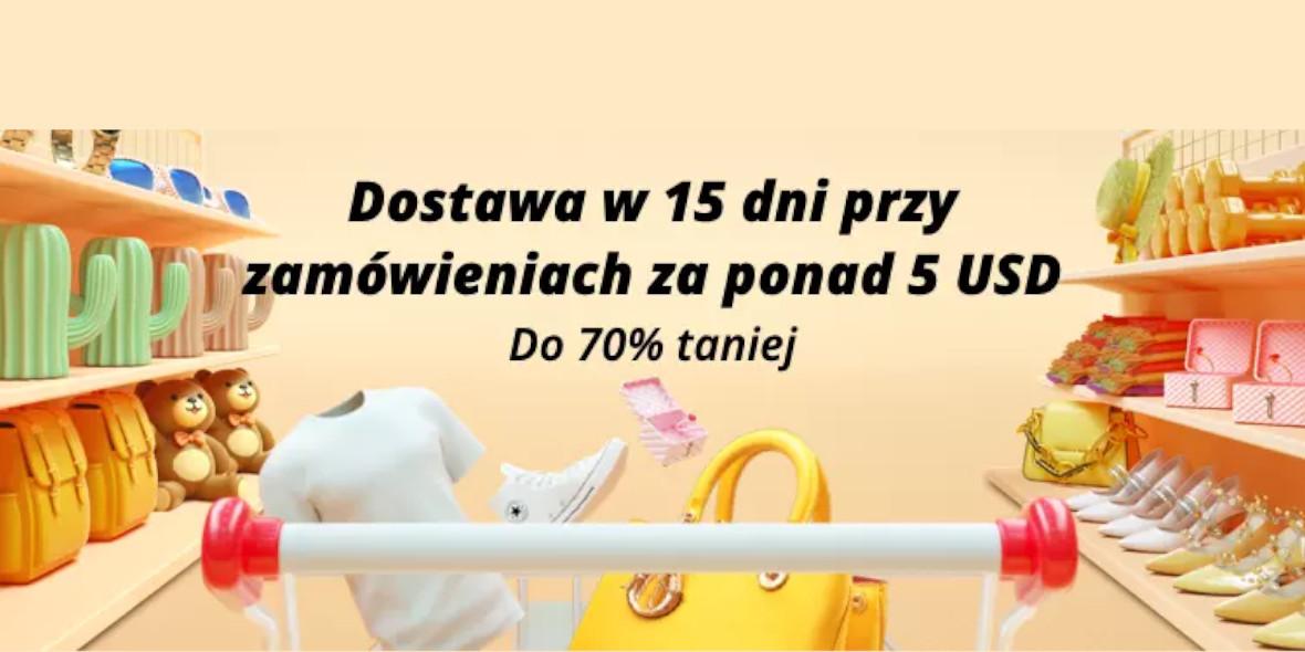 AliExpress: Do -70% i dostawa w 15 dni 12.04.2021
