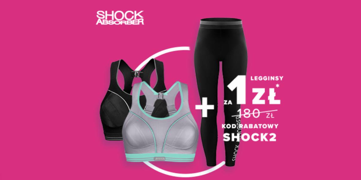 Sklep biegacza:  1 zł za legginsy Shock Absorber 03.03.2021