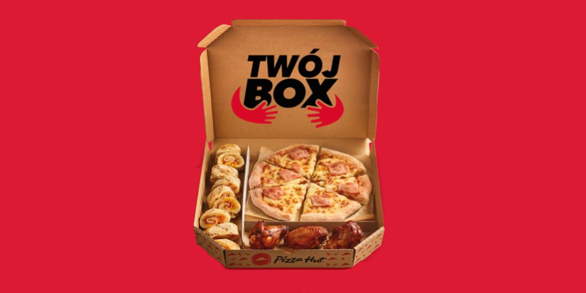 Pizza Hut: Od 26,99 zł za pizzę i 2 dodatki
