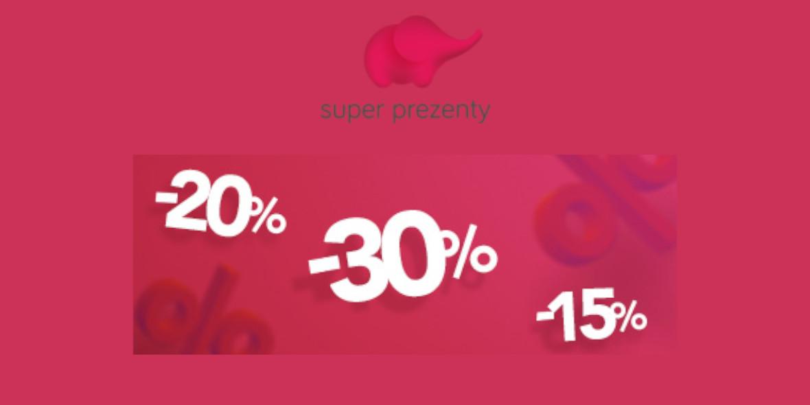 Super Prezenty: Do -50% na wybrane vouchery prezentowe