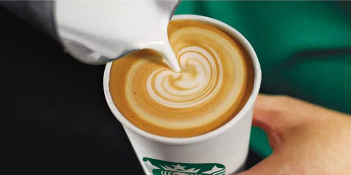 mała kawa przy zakupie kawy ziarnistej
