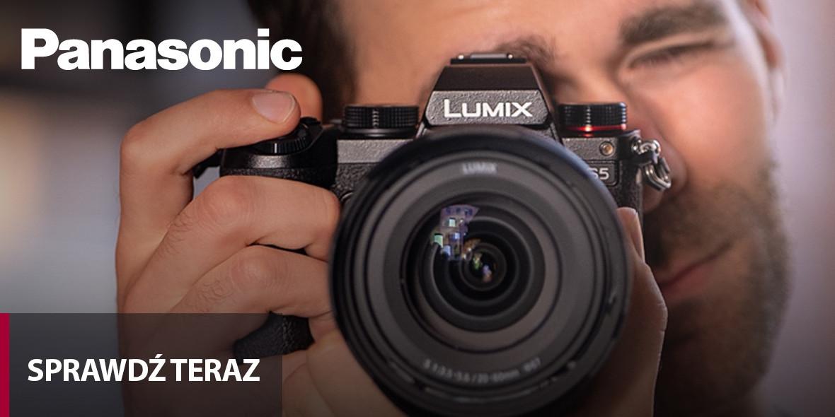 FotoForma:  Do -2025 zł na aparat LUMIX i obiektywy 15.10.2021