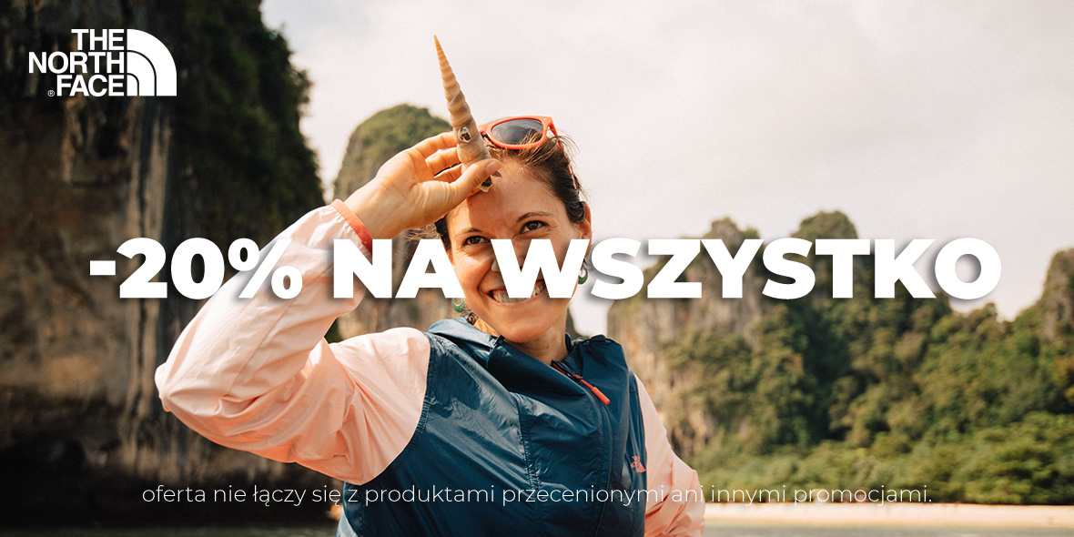 The North Face: -20% na cały asortyment 13.06.2019