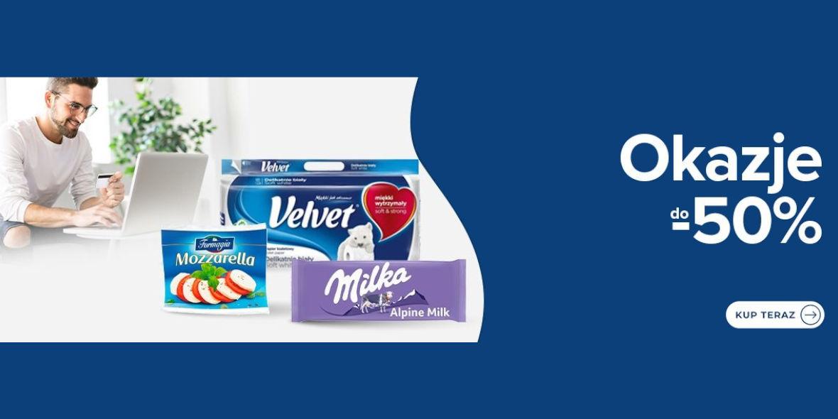 Carrefour: Do -50% na wybrane produkty 24.06.2021