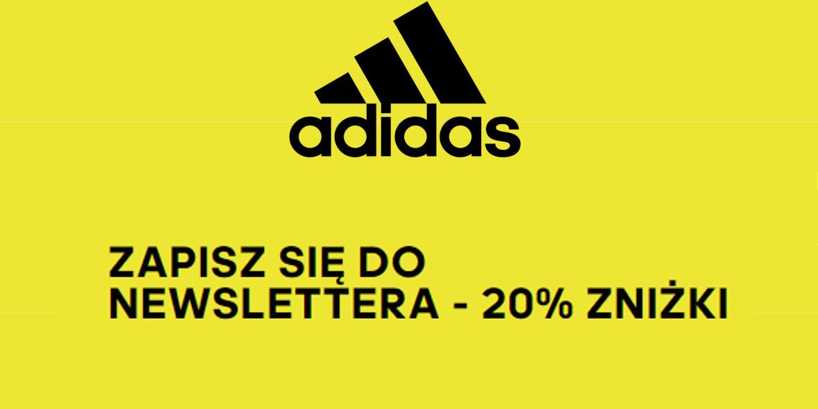 Adidas: -20% z newsletterem
