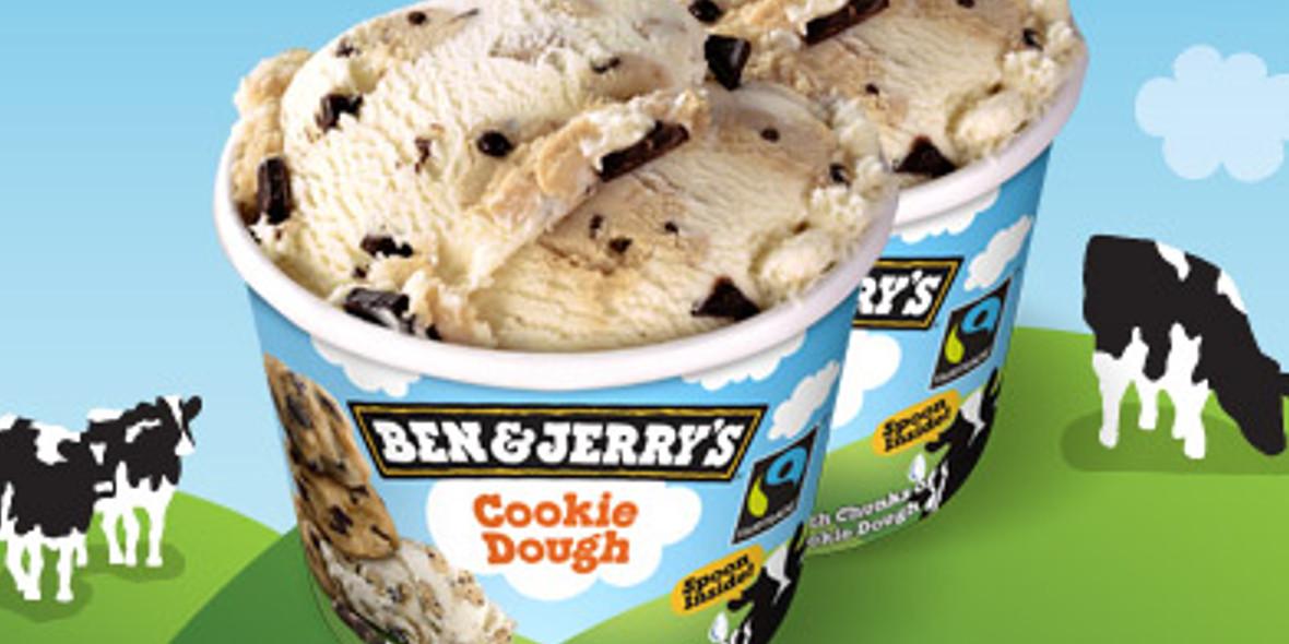 KFC: Gratis drugie Lody Ben & Jerry's Cookie Dough 100 ml