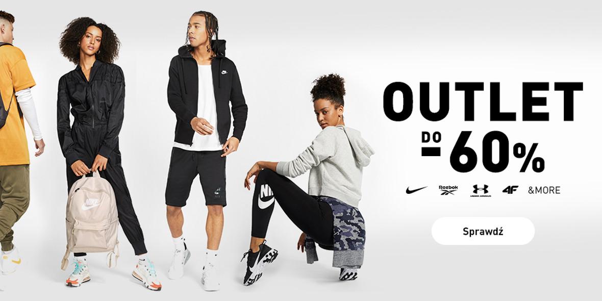Intersport: Do -60% na odzież i obuwie sportowe