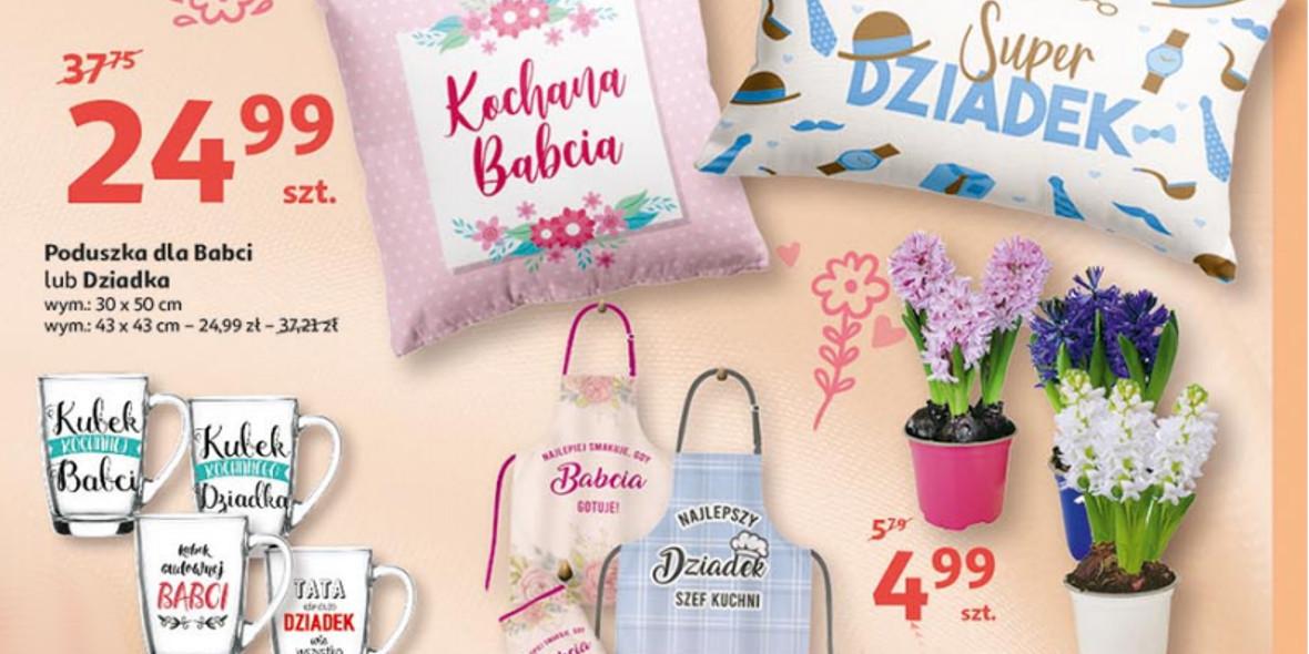 Auchan:  Upominki dla Babci i Dziadka 14.01.2021