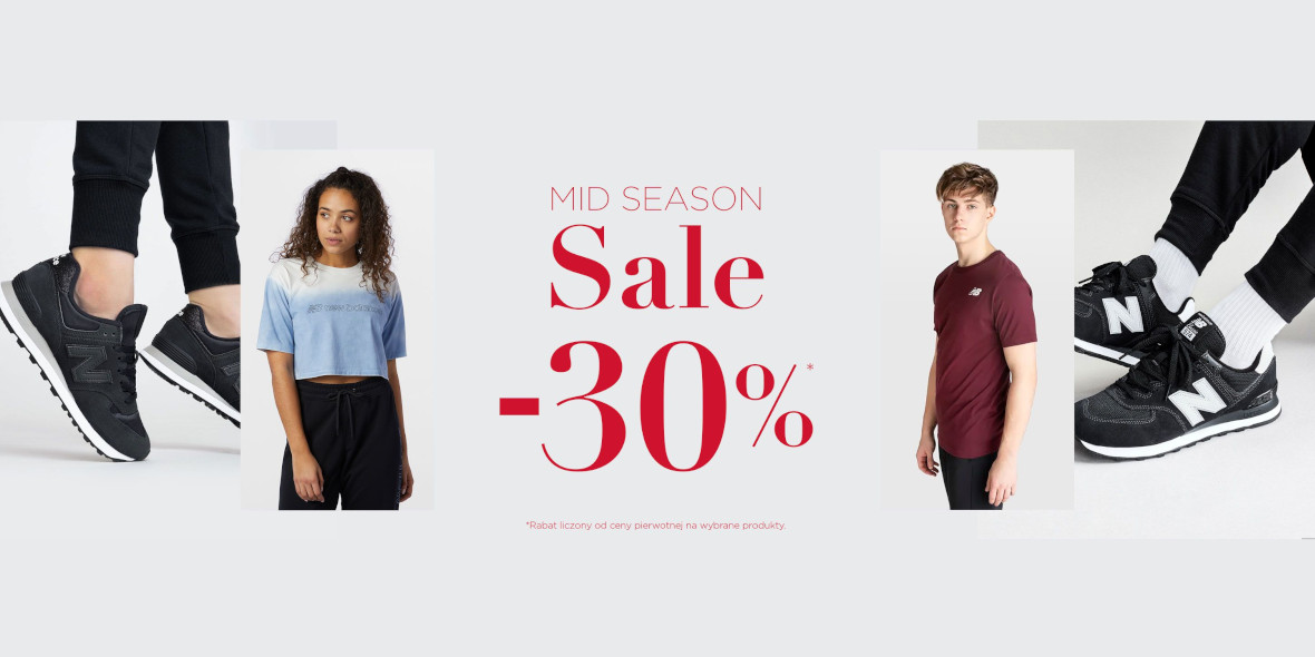 New Balance: -30% na Mid Season Sale 31.05.2021