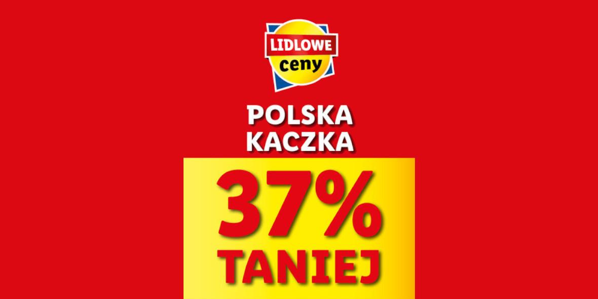 Lidl: -37% na kaczkę 10.05.2021