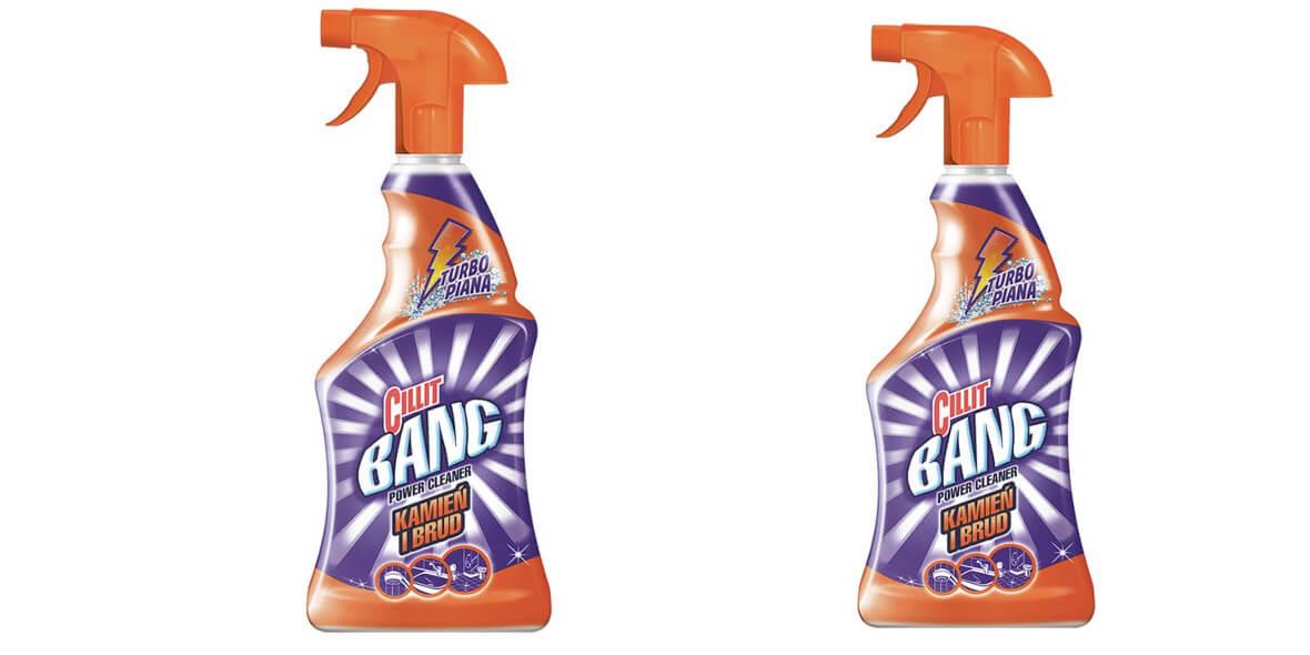 na spray do czyszczenia Cillit Bang