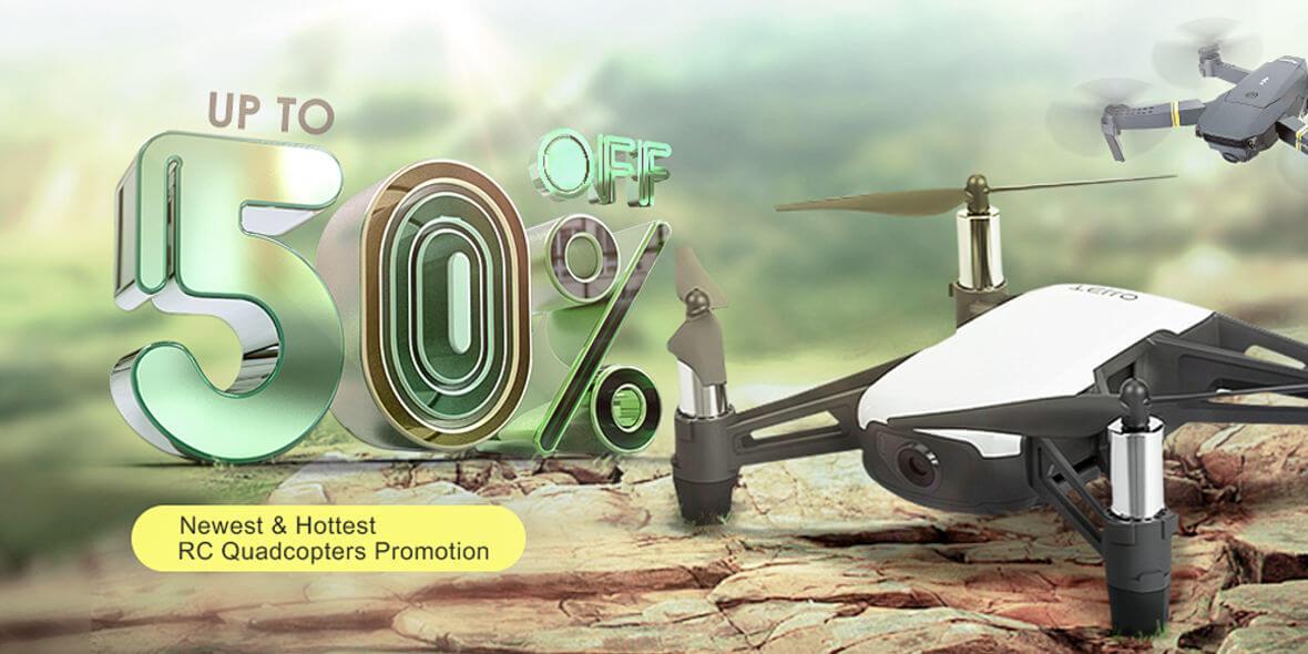 dodatkowo na zdalnie sterowane drony