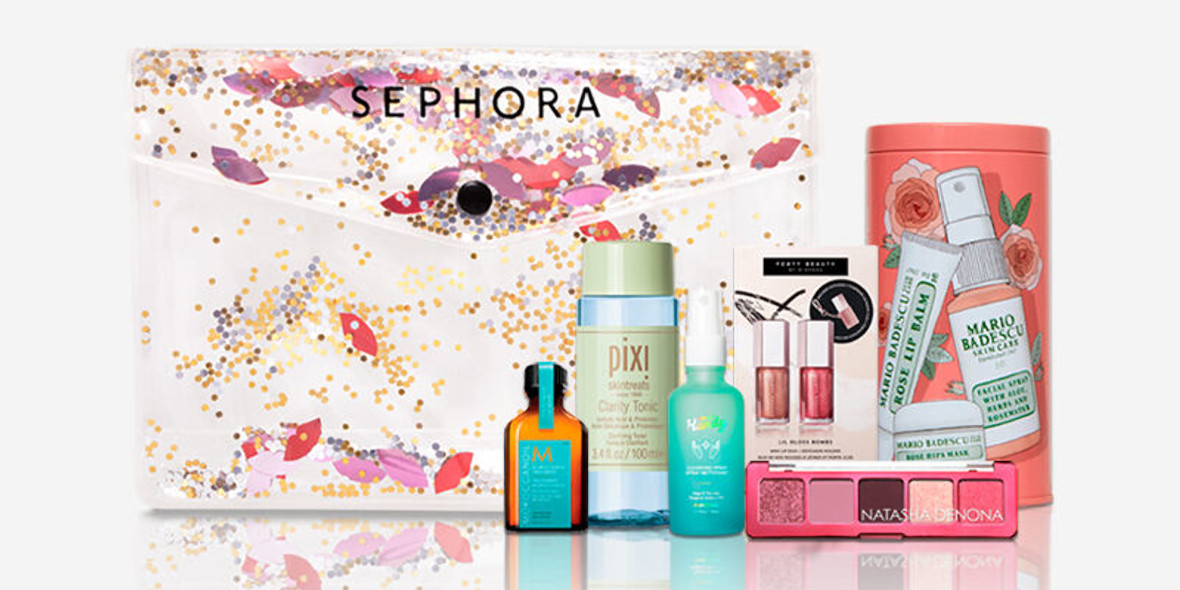 Sephora:  Kosmetyczka w prezencie! 03.03.2021