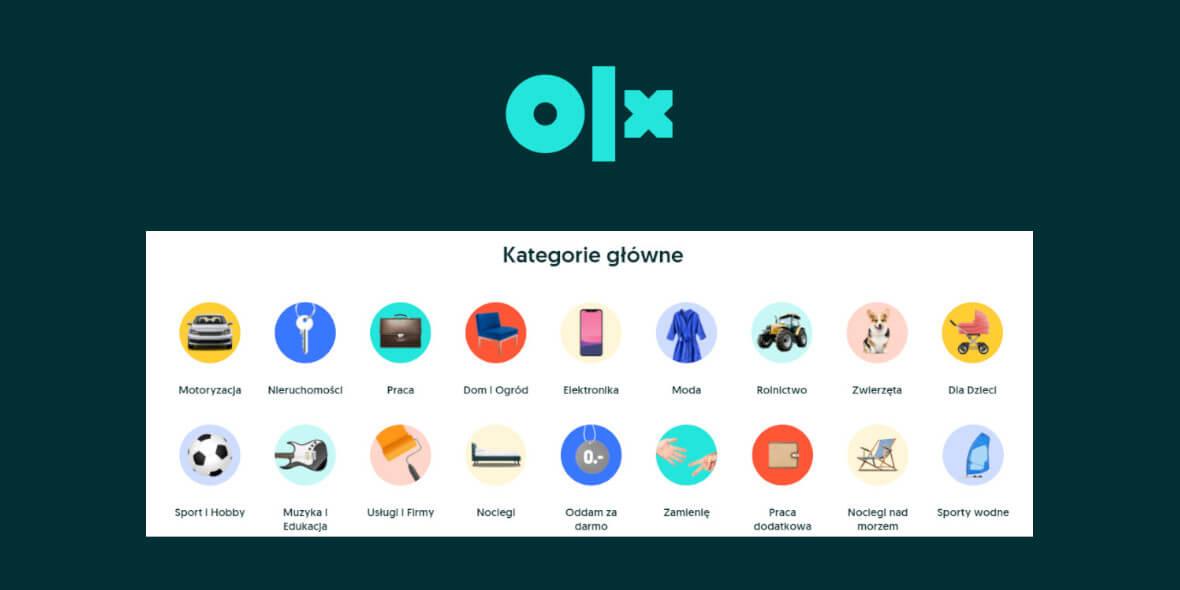 OLX.pl: 1 zł za przesyłki OLX w kat. Moda i Dla Dzieci 02.08.2021