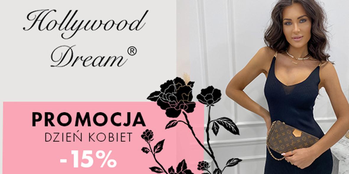 HollywoodDream.pl: Kod: -15% na Dzień Kobiet 06.03.2021