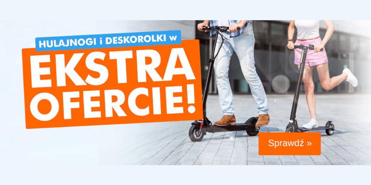 ELECTRO.pl: Ekstra Oferty na hulajnogi i deskorolki