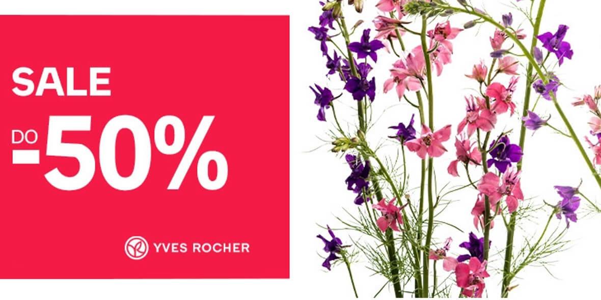 Empik: Do -50% na markę Yves Rocher 05.07.2021