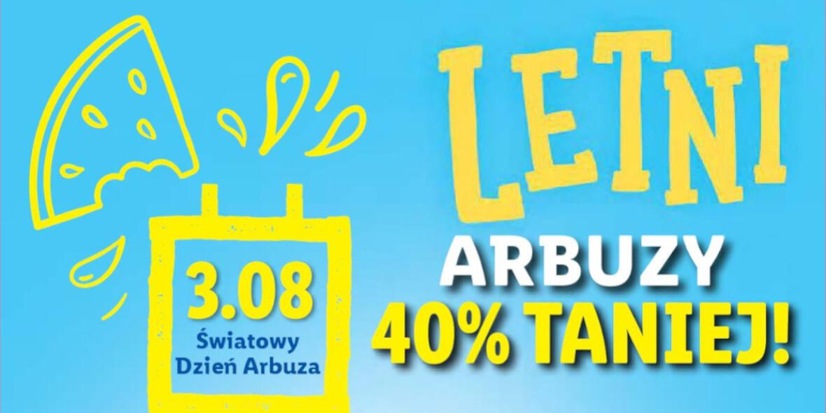 Lidl: -40% na arbuza 02.08.2021