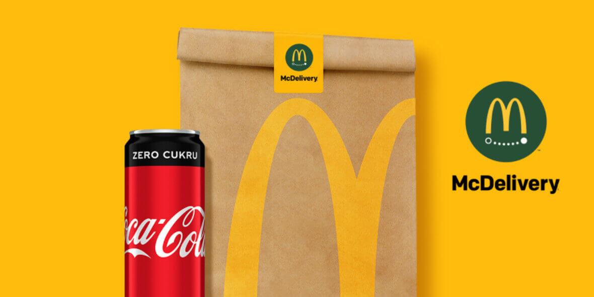 UberEATS: Gratis Coca Cola® Zero w dostawie