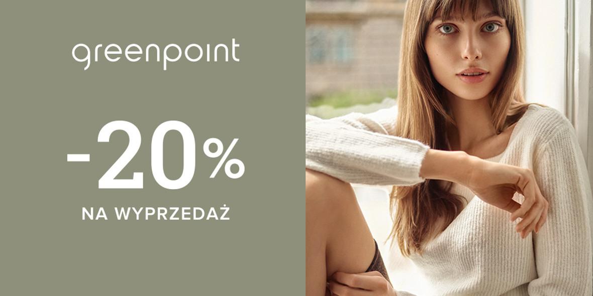 Greenpoint: Kod: -20% na wszystkie przecenione produkty
