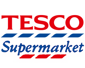 Logo Tesco Supermarket