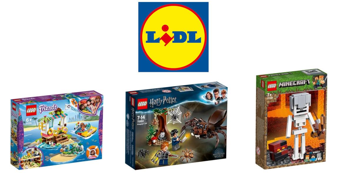 Lidl: ONLINE LEGO® na lidl-sklep.pl w super cenach 15.01.2021
