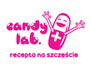 Logo candy lab.