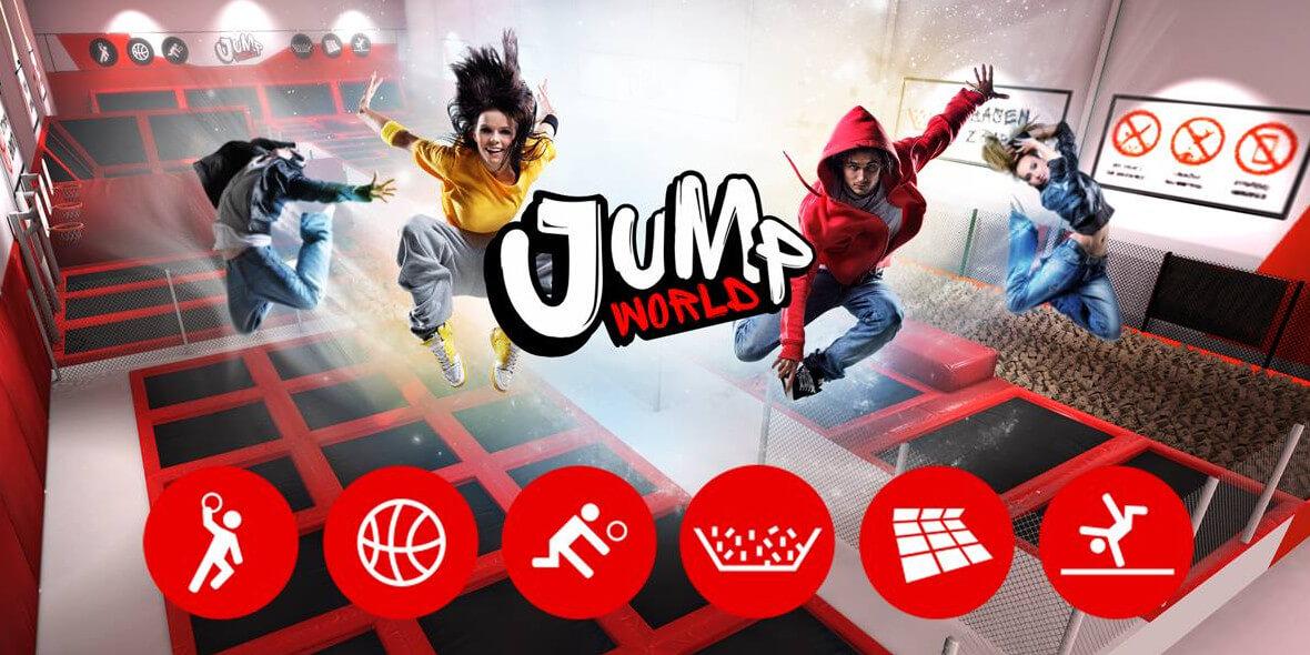 25 zł za godzinne atrakcje w Jump World