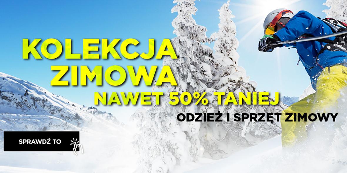 Go Sport: Do -50% na kolekcję zimową 21.01.2021