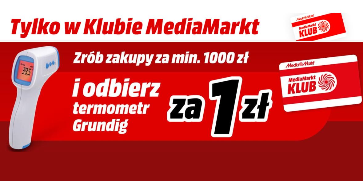 Media Markt: Prezent termometr Grundig 22.09.2021
