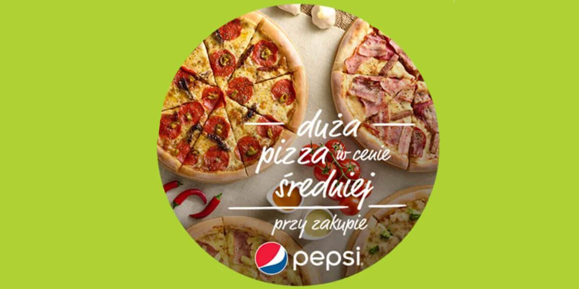 Da Grasso:  Duża pizza w cenie średniej przy zakupie napoju 14.09.2021