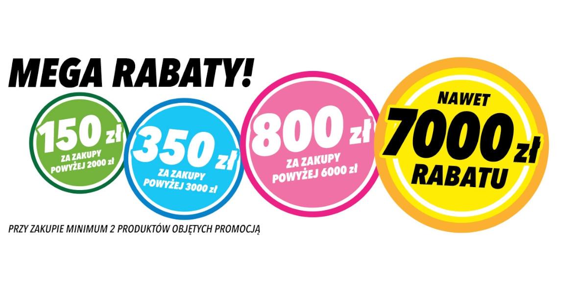Media Expert: Do -7000 zł przy zakupie min. 2 produktów z kodem 16.05.2021