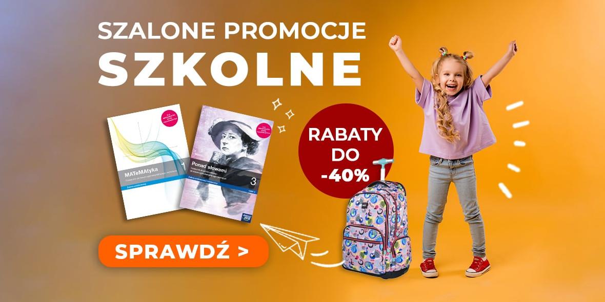 Gandalf.com.pl: Do -40% na podręczniki i akcesoria szkolne