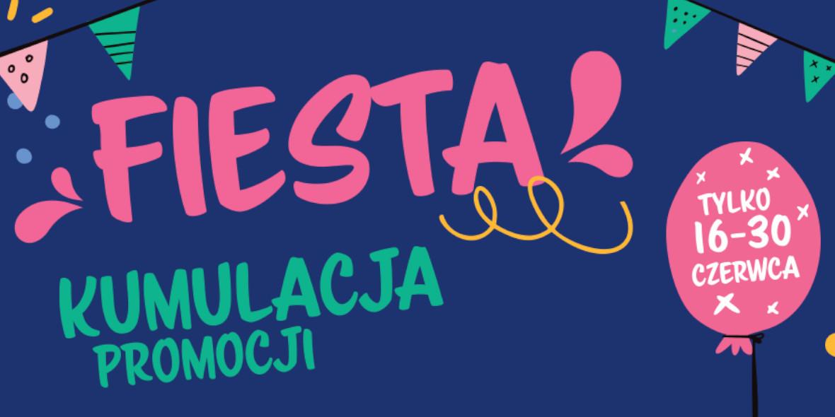 Rossmann: Fiesta! Kumulacja promocji! 16.06.2021