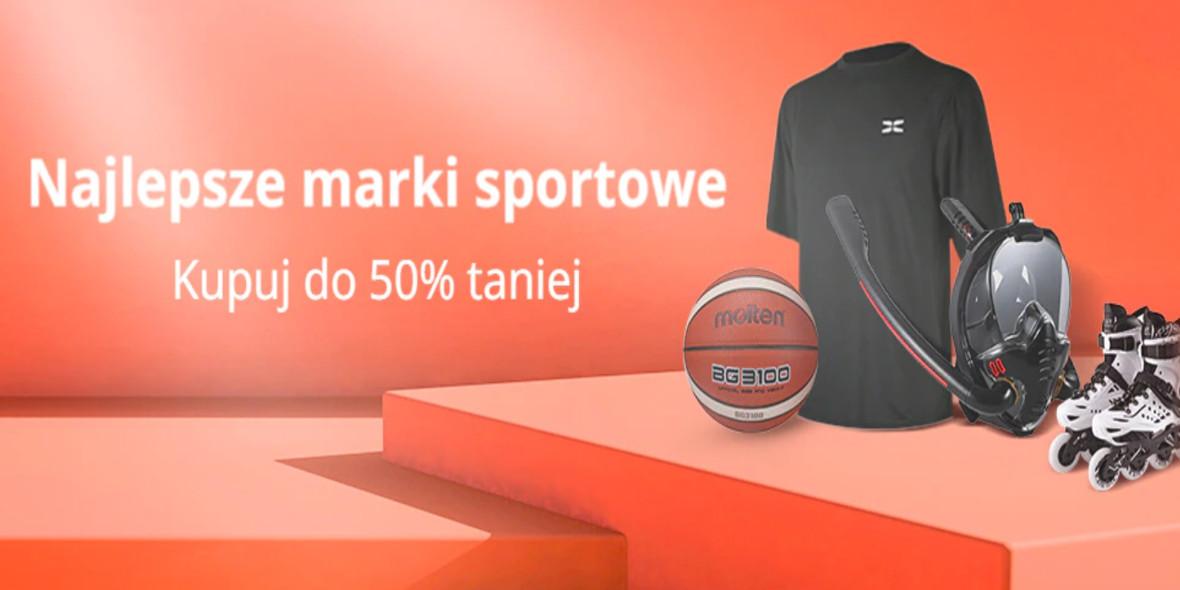 AliExpress: Do -50% na sportowe marki 20.09.2021