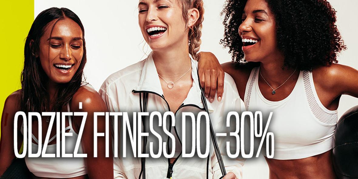 Go Sport: Do -30% na odzież fitness 16.09.2021