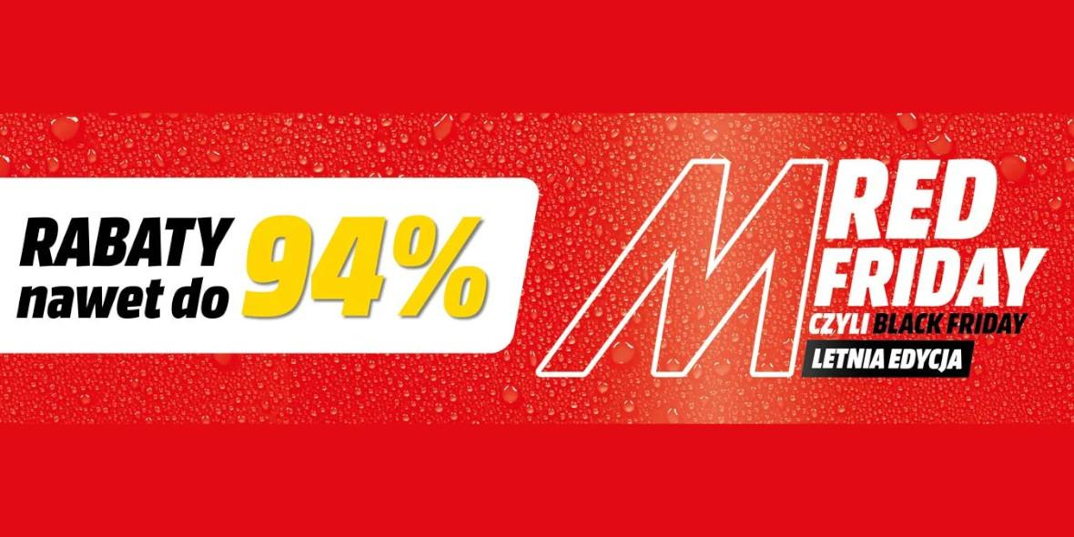 Media Markt:  Red Friday w MediaMarkt 21.06.2021
